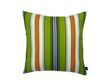 Multi Stripe Green - 18X18 Indoor / Outdoor Throw Pillow
