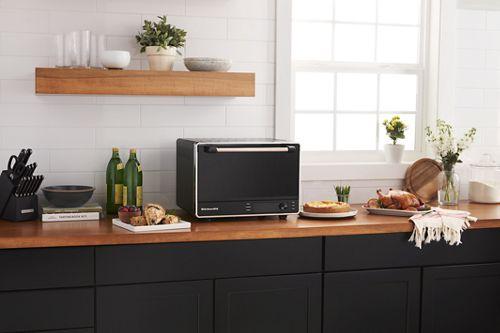 Black Matte Dual Convection Countertop Oven Kco255bm Kitchenaid