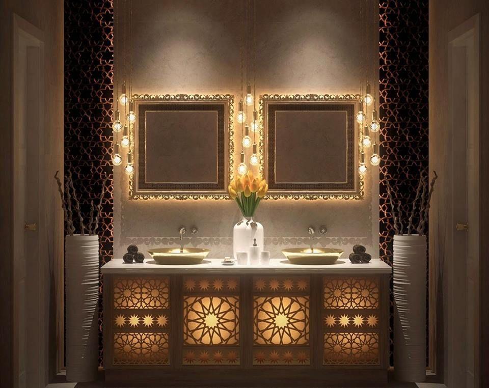Collection des plus belles salles de bain style oriental astuces bricolage