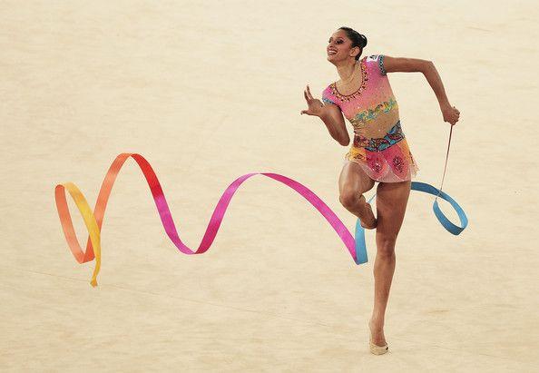 19th Commonwealth Games Day 9 Rhythmic Gymnastics Rhythmic Gymnastics Ribbon Dance Gymnastics