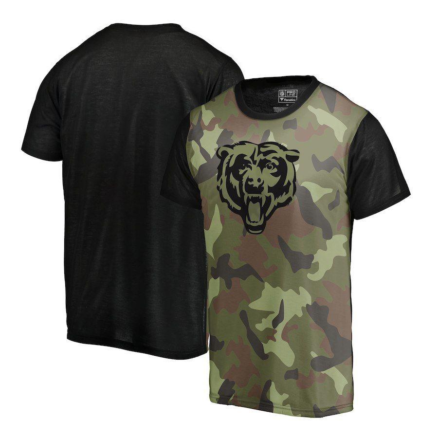 0d97ddfa Men's Chicago Bears NFL Pro Line by Fanatics Branded Camo Blast ...
