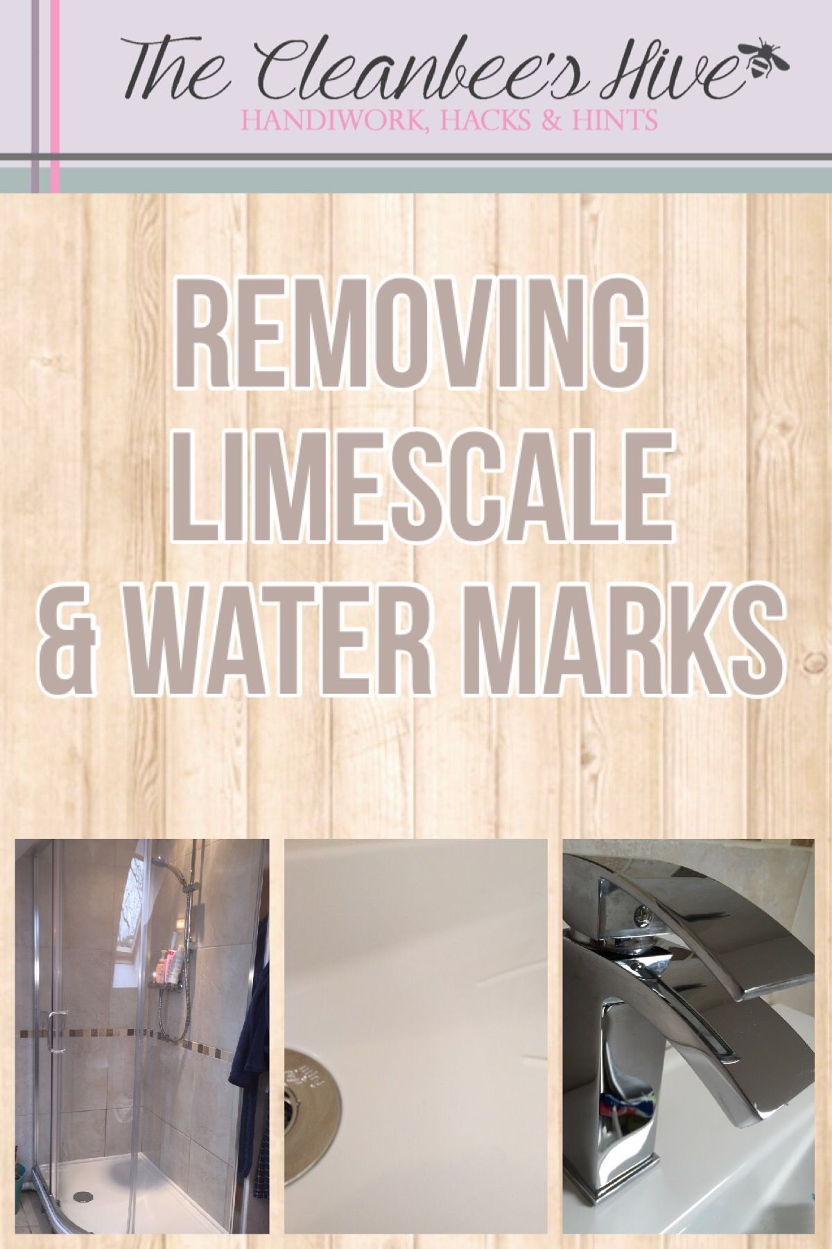Removing limescale and water marks from your bathroom shower screen ...