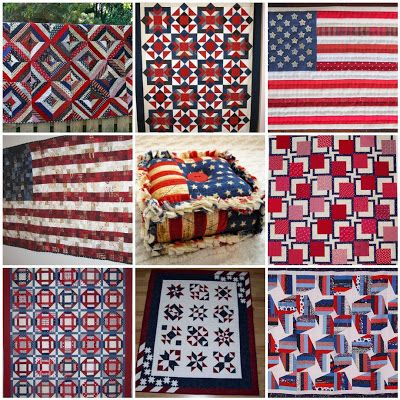 Quilts | Red White Blue Quilts | USA / 4th / Memorial / Labor ... : quilts usa - Adamdwight.com