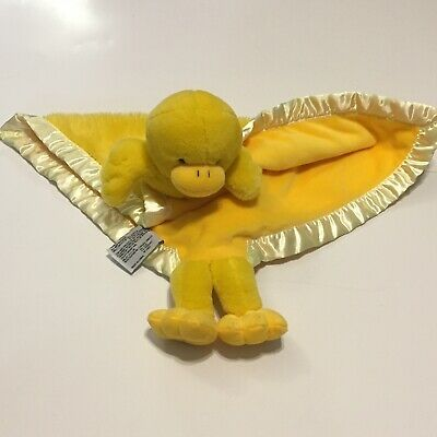 Details about MY BANKY Yellow Duck Ducky Security Blanket Lovey Sarah Duckie #securityblankets