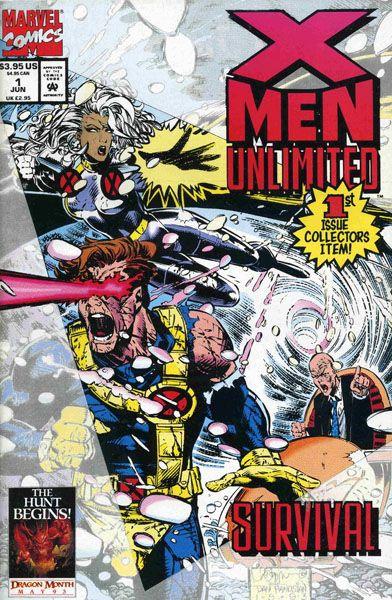 X Men Unlimited 1 Serie Vo X Men Unlimited 1 Bandes Dessinees Marvel X Men Marvel Comics