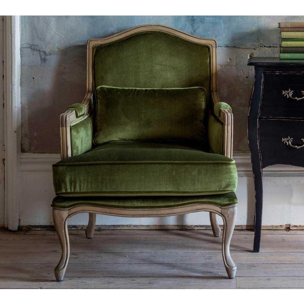 560 hathaway moss green velvet armchair green velvet