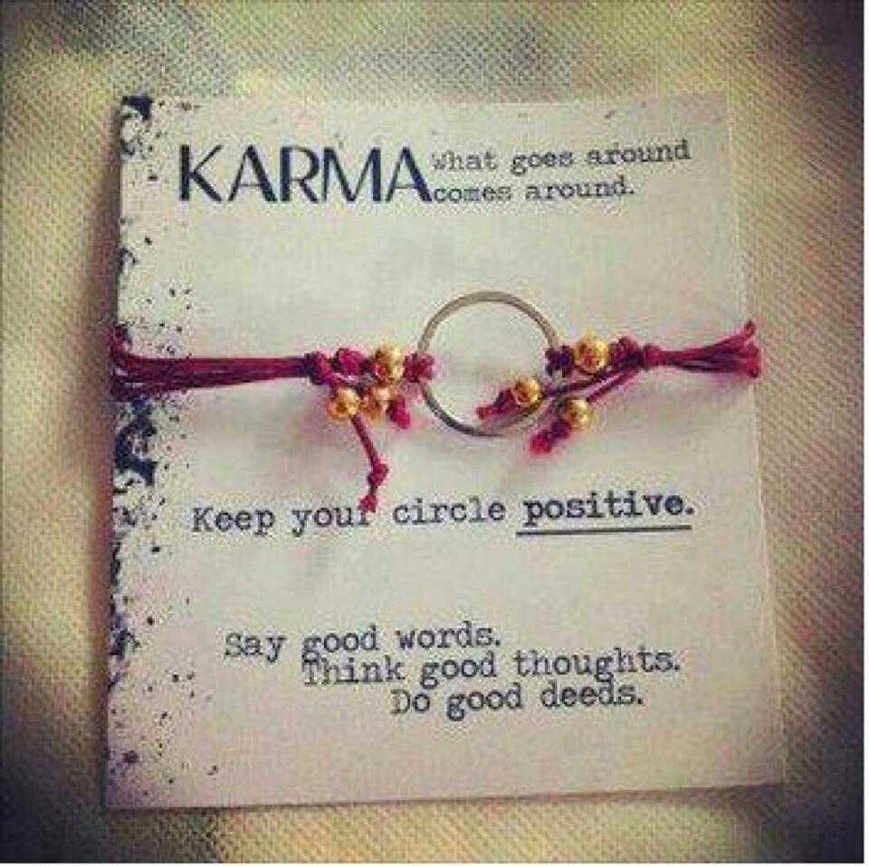 Keep your circle positive :)
