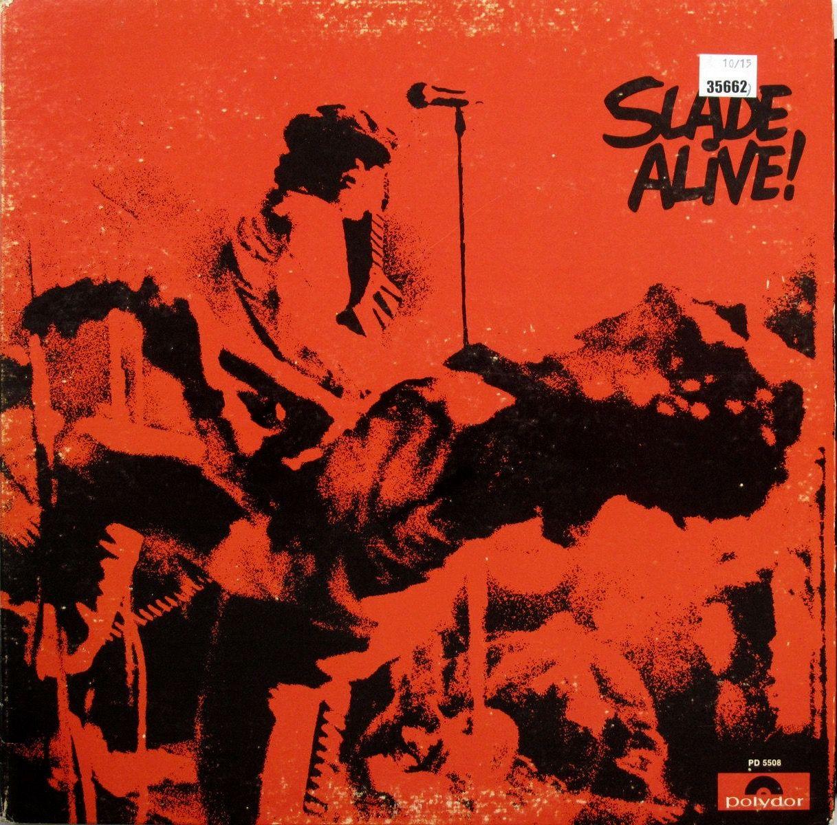 Slade Alive March 1972 Cover Album Muziek
