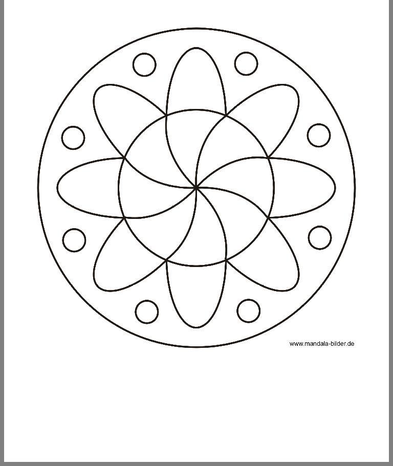 Pin Von Jamie Smith Miller Auf Paintings Mandala Bilder Einfaches Mandala Blumen