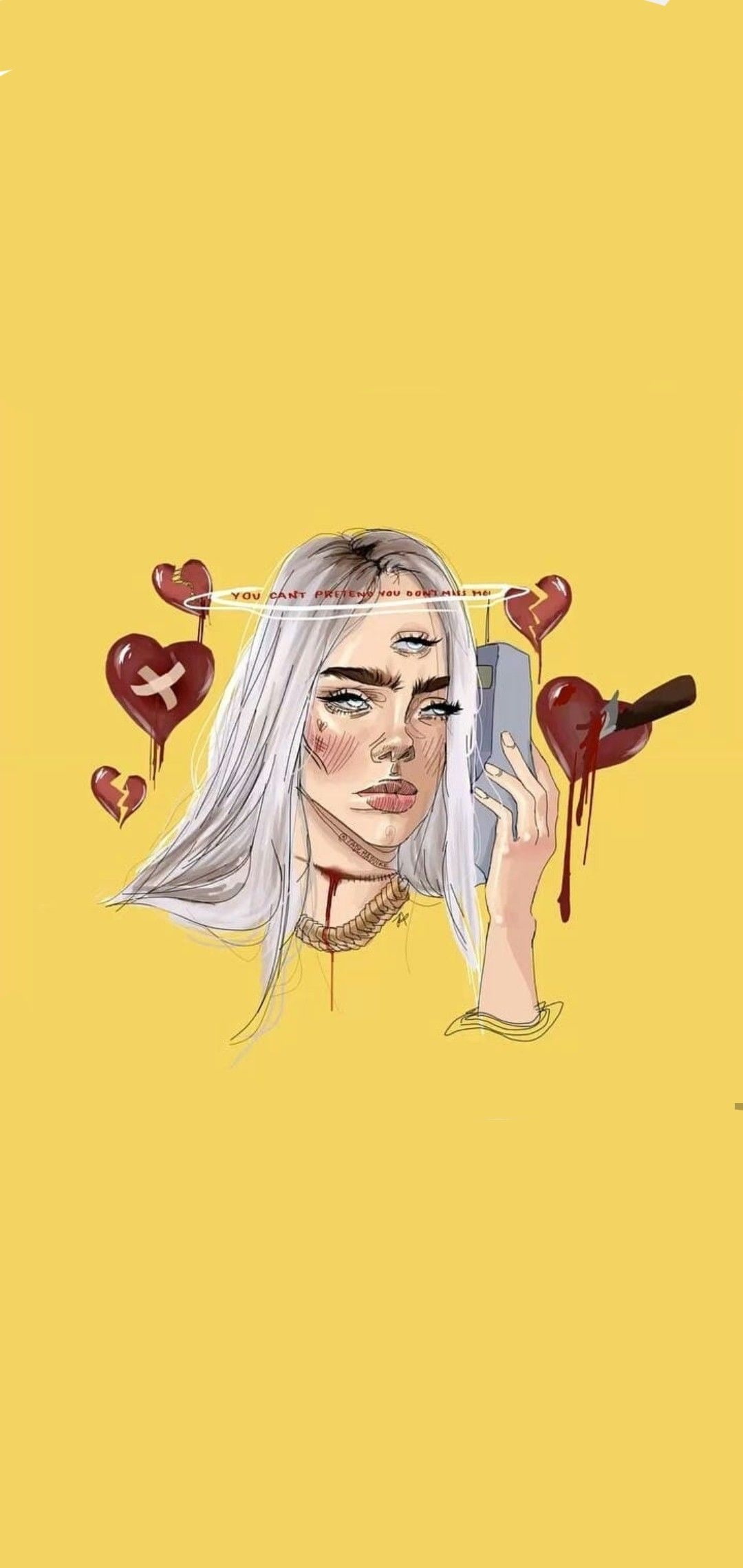 Billie Eilish Wallpapers Top Free Billie Eilish Backgrounds Wallpaperaccess Billie Eilish Billie Art Sketchbook