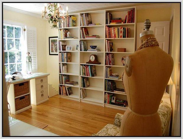 Full Height Bookshelf Room Divider