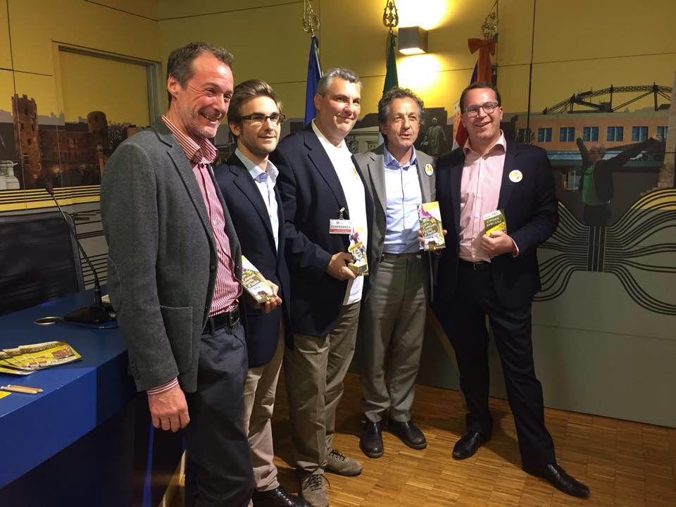 Conferenza stampa premiazione nazionale Comuni Fioriti 2015, a cura di ASPROFLOR