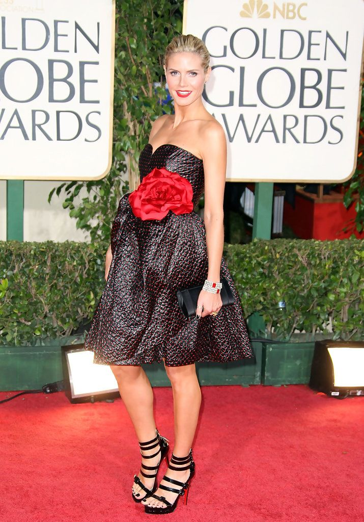 Heidi Klum Photos - The 66th Annual Golden Globe Awards - Zimbio