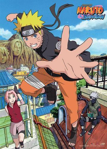 Naruto Shippuden Naruto Homecoming Wall Scroll [PreOrders SoldOUT] 4K