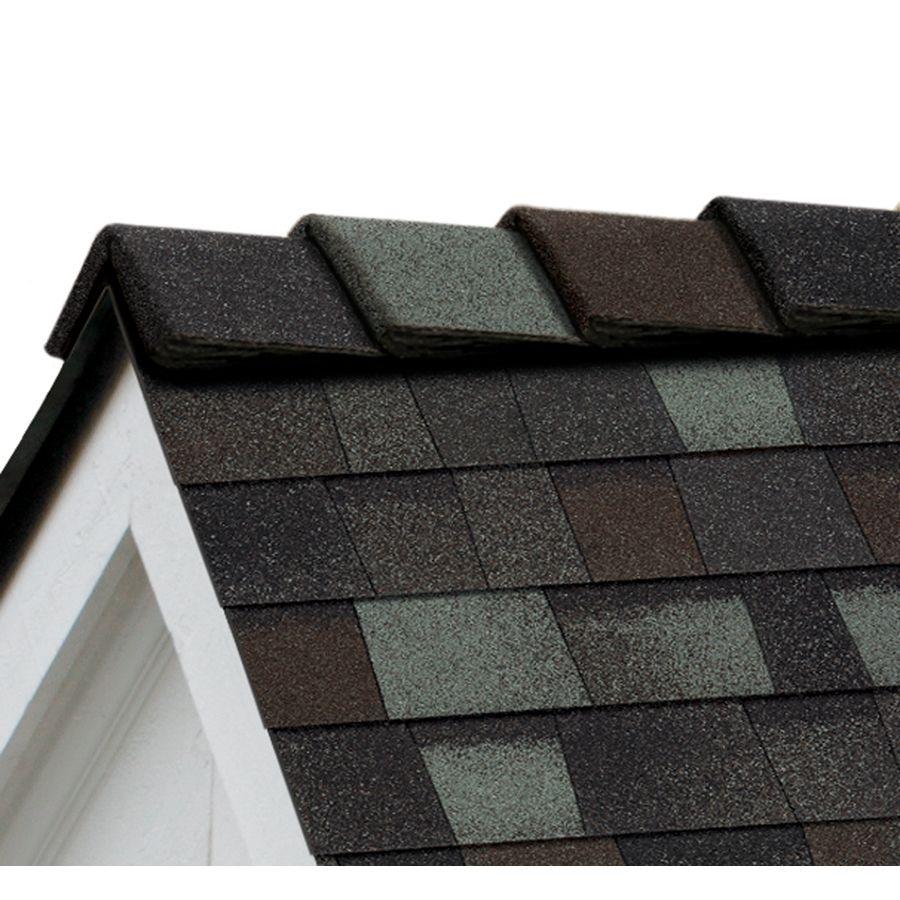 Owens Corning Decoridge 20 Lin Ft Storm Cloud Hip And Ridge Roof Shingles Lowes Com In 2020 Ridge Roof Roof Shingle Colors Roof Shingles