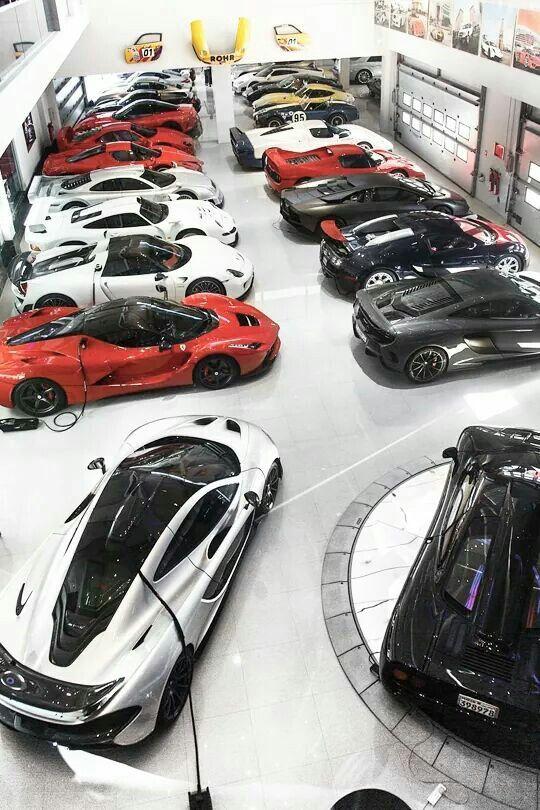 Garage Goals Ferrari Bugatti Lamborghini Porsche Mclaren