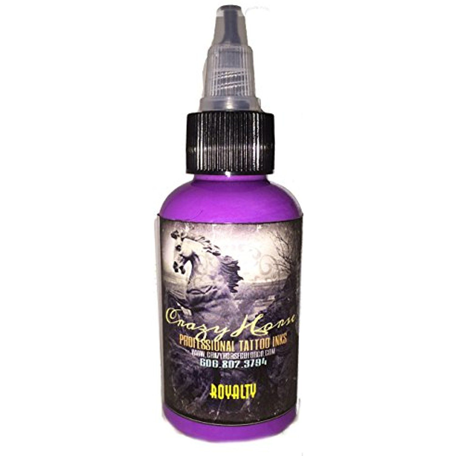 Crazyhorse high quality tattoo ink royalty you can