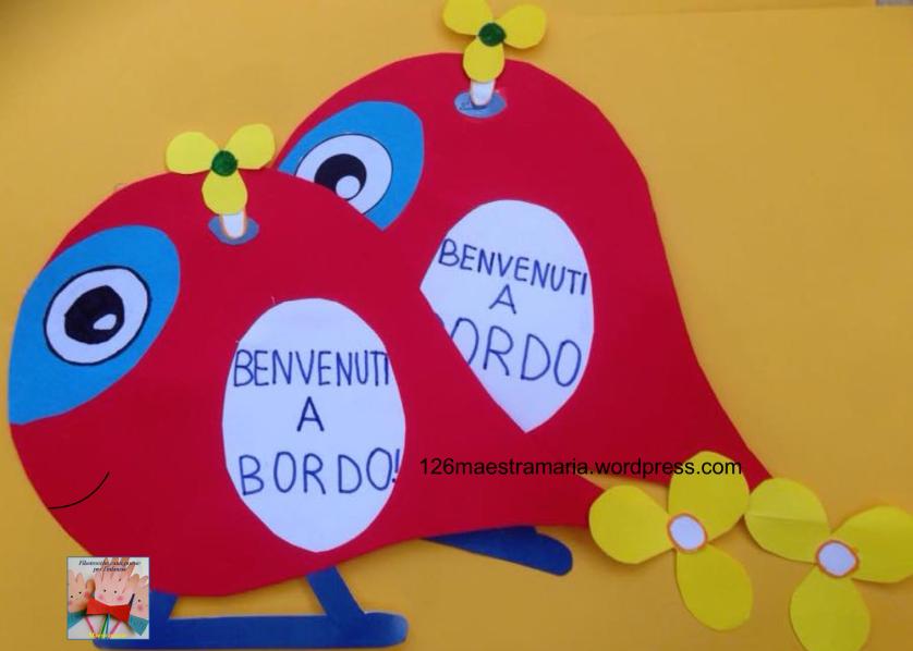 Lavoretto per l 39 accoglienza a scuola inizio anno for Lavoretti accoglienza infanzia