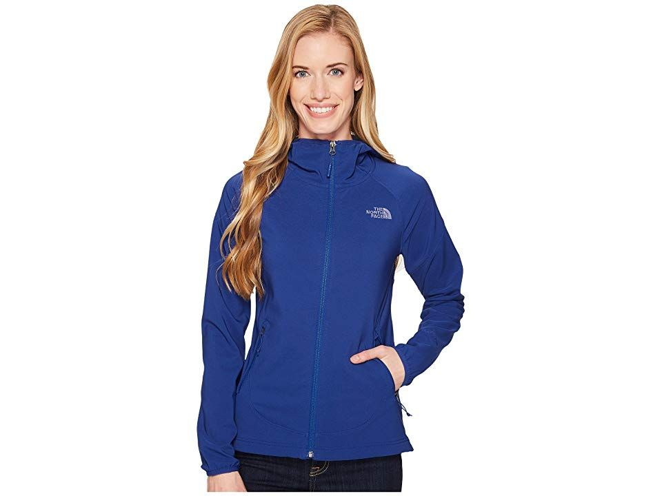 bda85bf90 The North Face Nimble Hoodie (Sodalite Blue) Women's Coat. The North ...