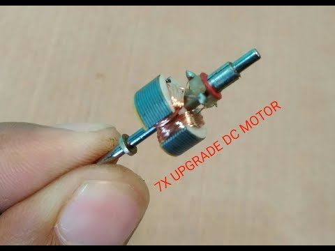 How To Upgrade DC Motor Speed Up To 10X - YouTube | motor | Motor