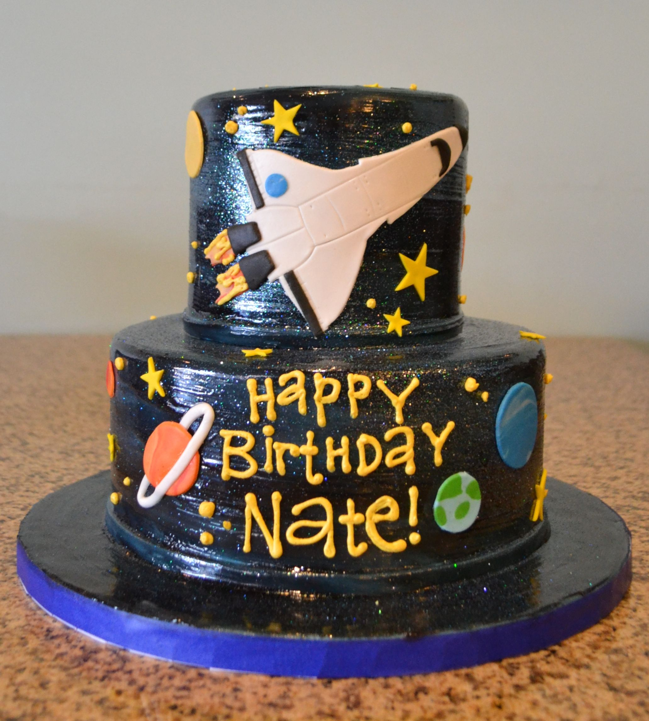 Outer Space Birthday Cake Sugarland Raleigh Chapel Hill
