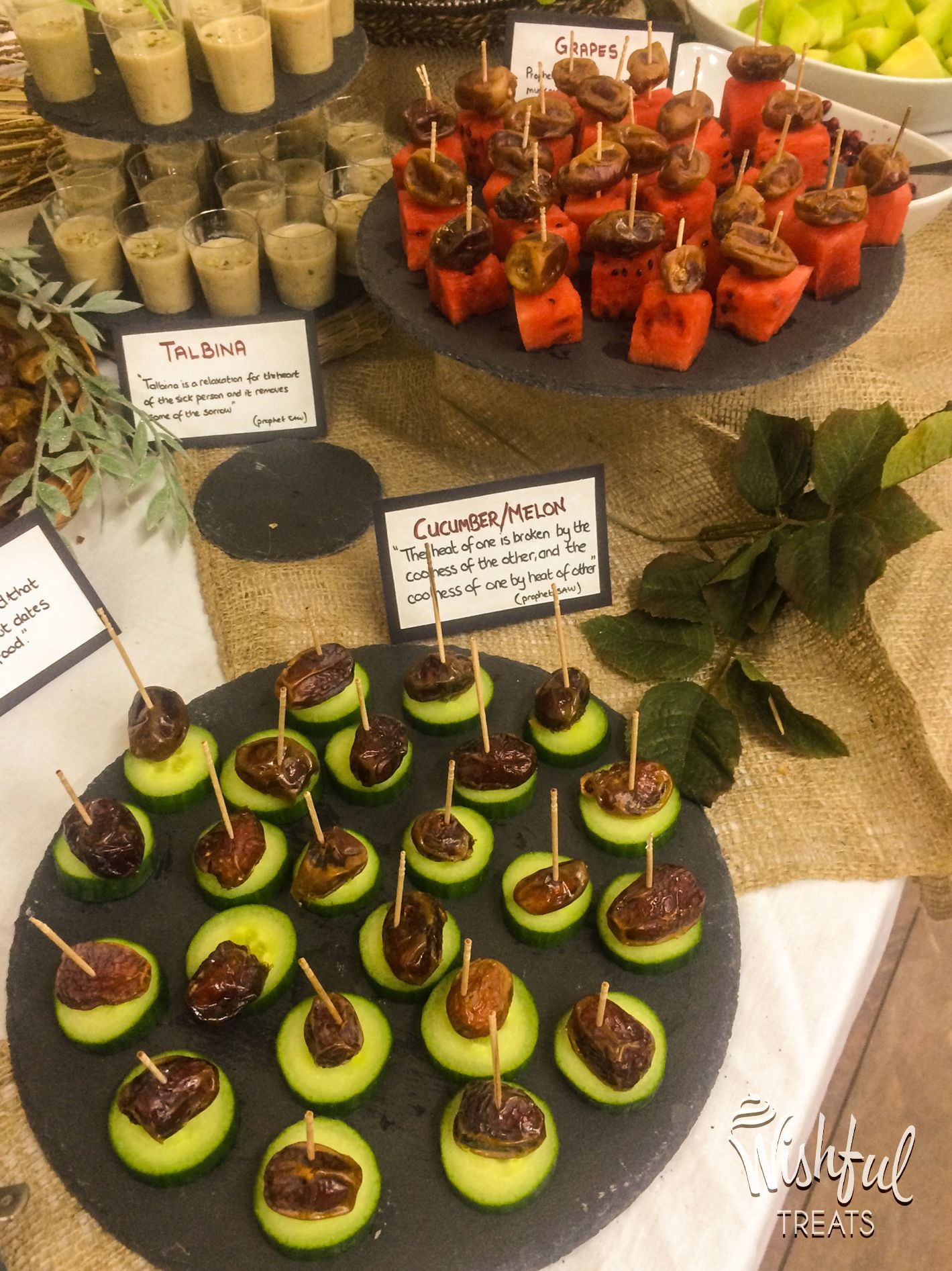Canapes Relaxation These Mouthwatering Cucumber Melon And Date Canapés Were A