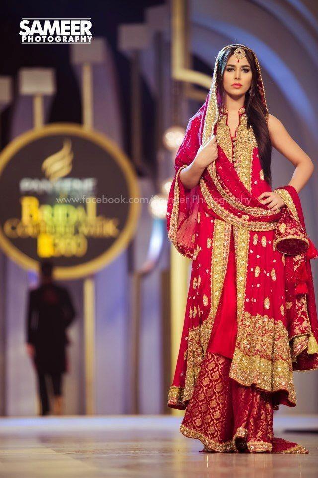 100 Pakistani Bridal Dresses 2018 For Wedding Parties 8: An Authentic Pakistani Bride!!!! 100%
