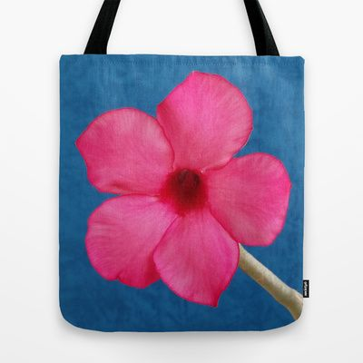 DELIGHTFULLY PINK Tote Bag by Annie Koh - $22.00