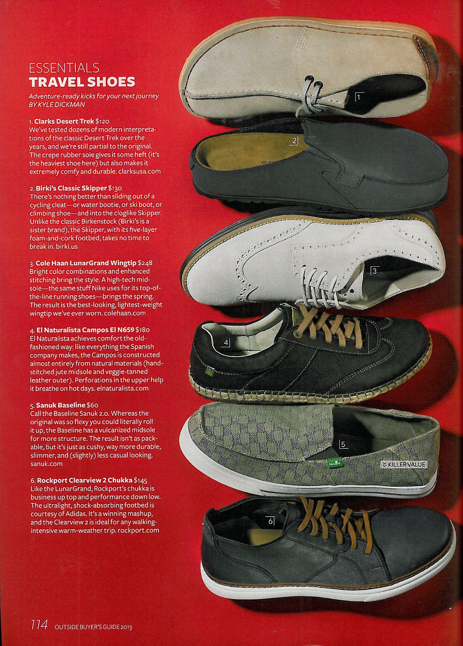 Outside Magazine | Clarks Desert Treks |
