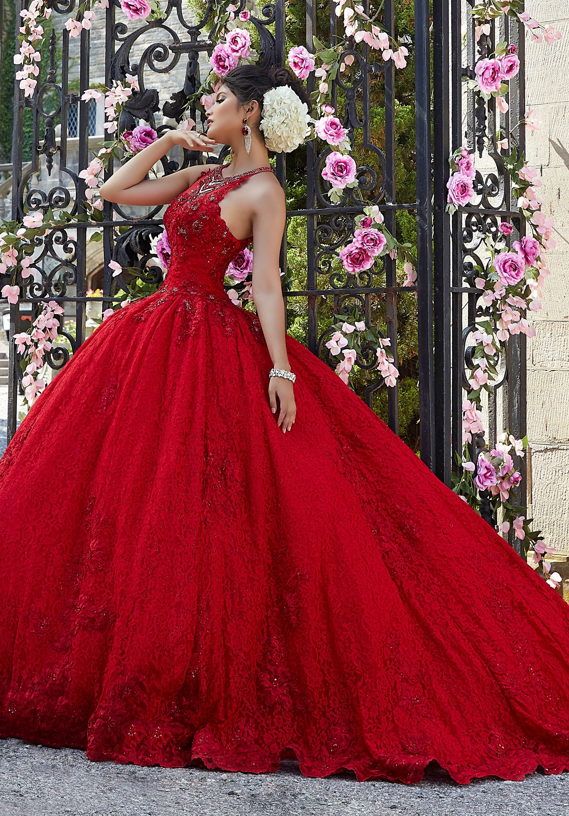 Lace And Sparkle Tulle Quinceanera Dress Morilee Style 34026 Black Quinceanera Dresses Pretty Quinceanera Dresses Quince Dresses [ 2630 x 1834 Pixel ]