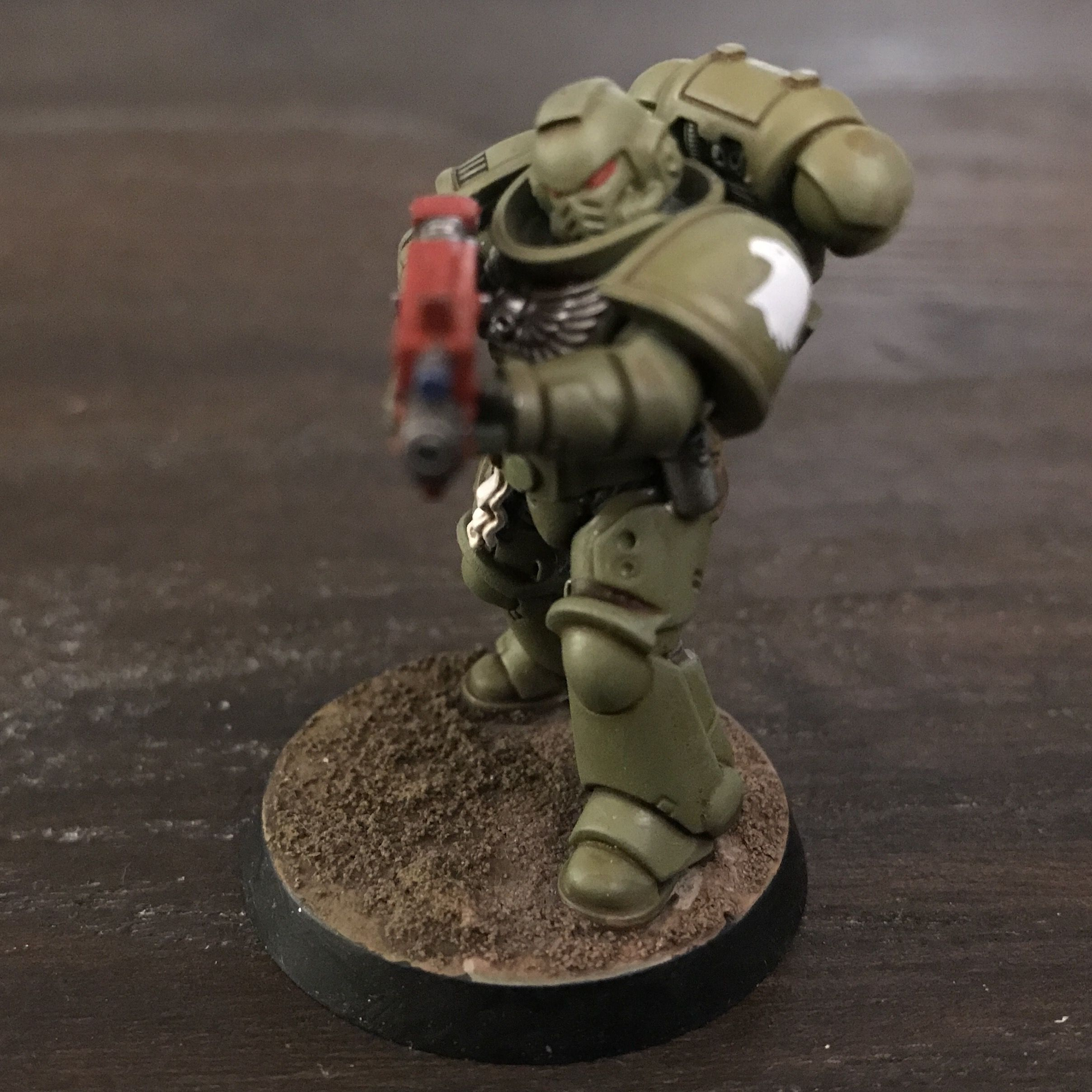 My first primaris marine and Raptor  Epic chapter | Not