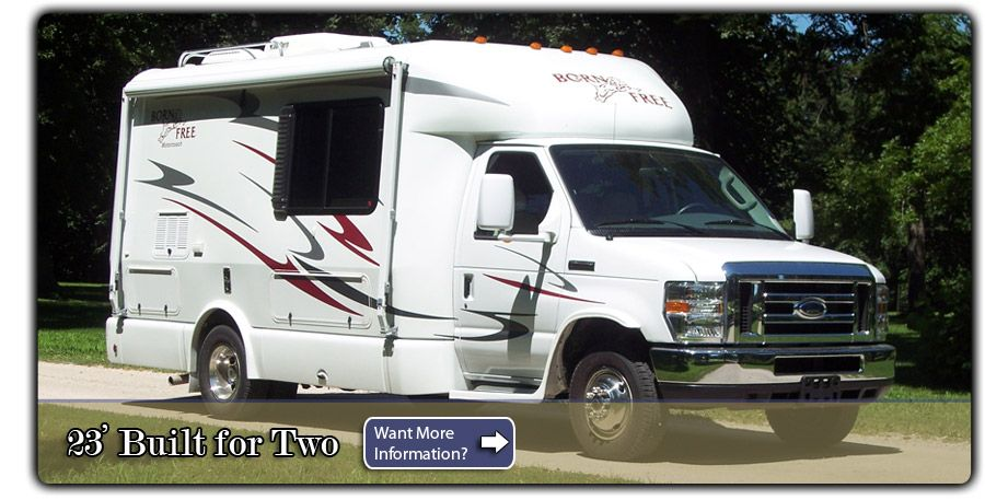 Built For Two Born Free Class C Motorhome Small Rv