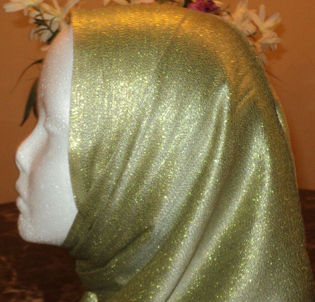 Gold/Solid Hijab