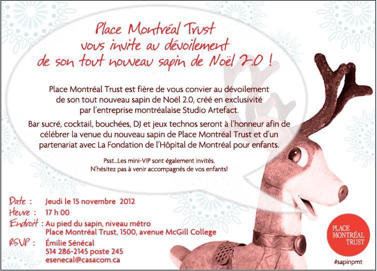 Invitation Arbre De Noel Entreprise Qs27 Jornalagora