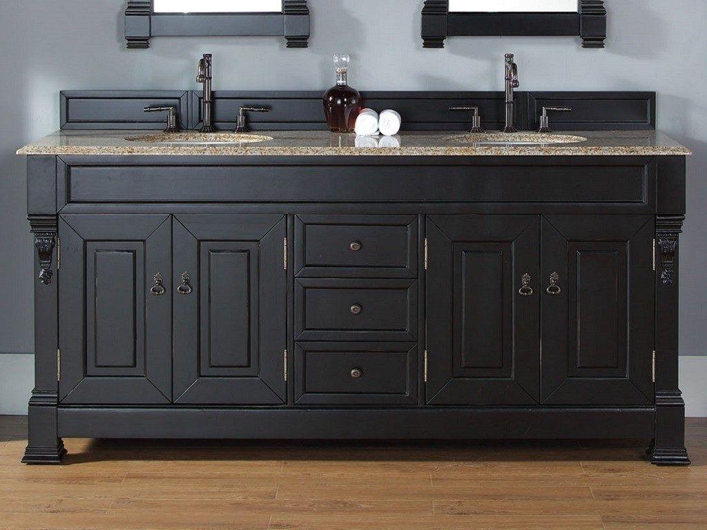 Image Result For Double Sink Vanity 72 Inch Black Vanity