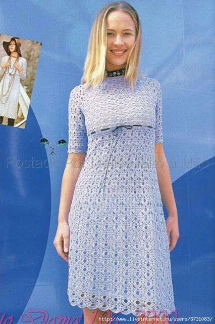 lindo vestido azul