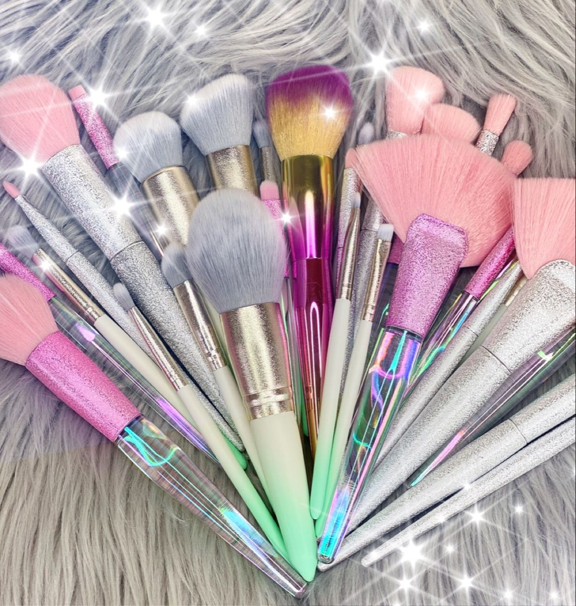 Peachy Queen Brush Set Pink in 2020 Brush set, Monthly