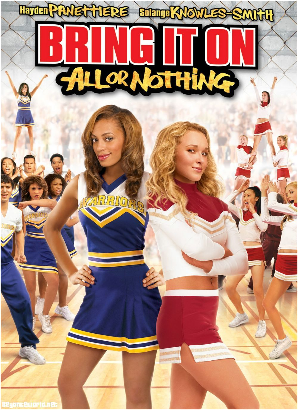 Bring it on all or nothing chickflicks film solange