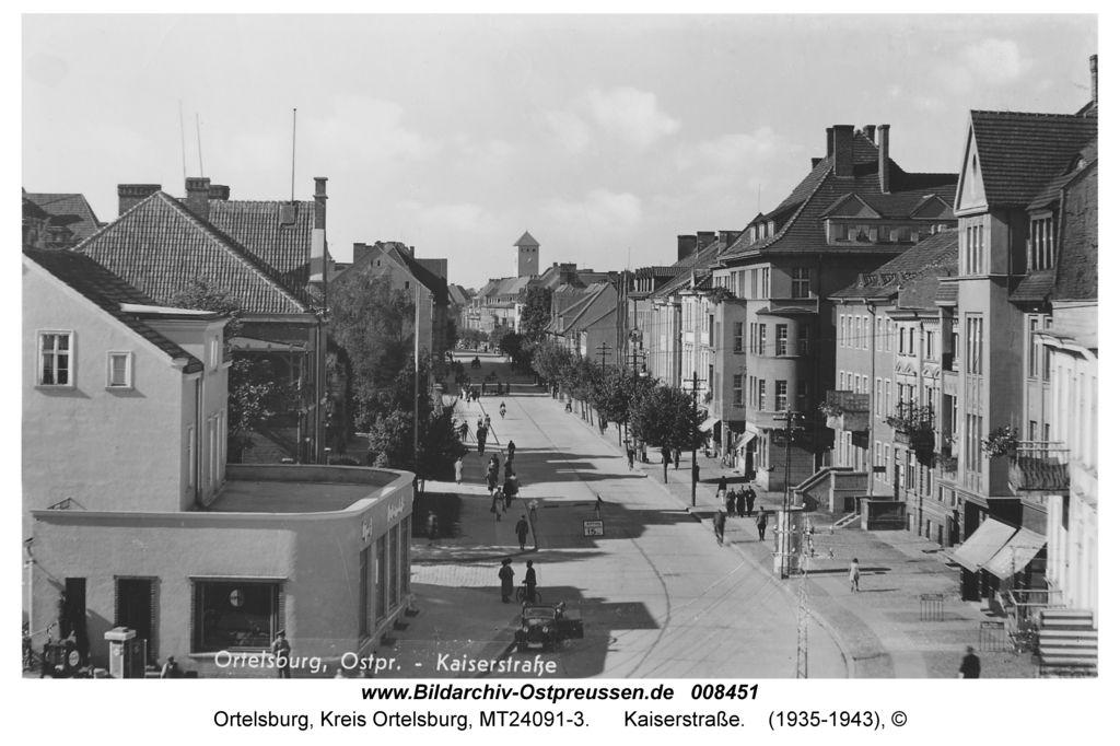 Ortelsburg, Kaiserstraße