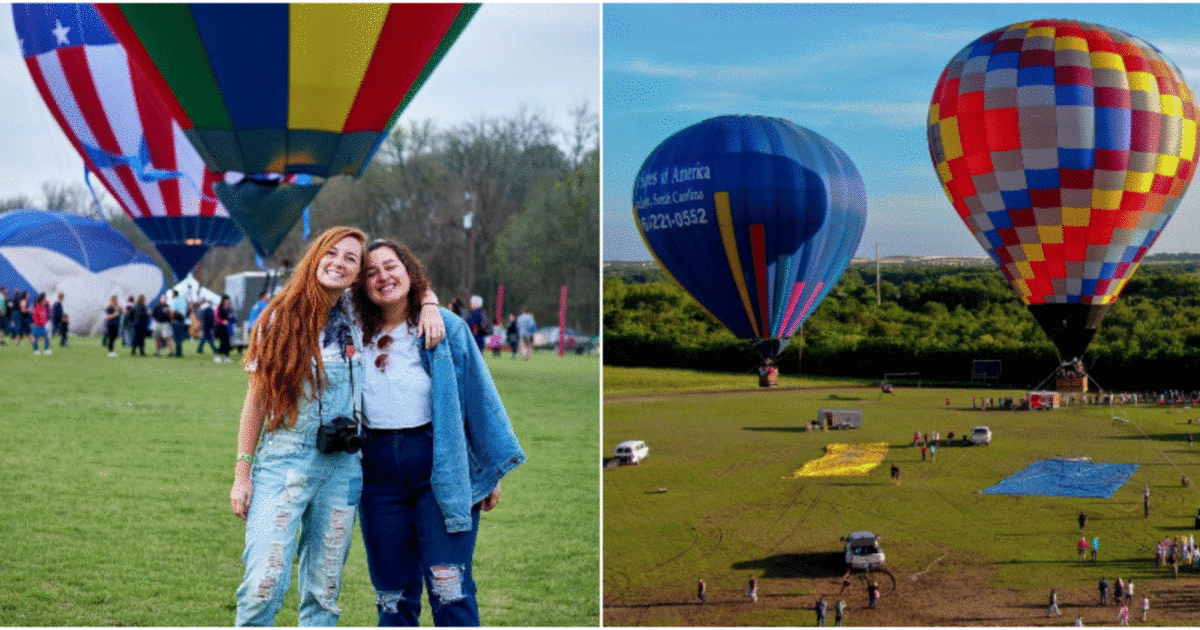 Houston Is Having A Massive Hot Air Balloon Fest This