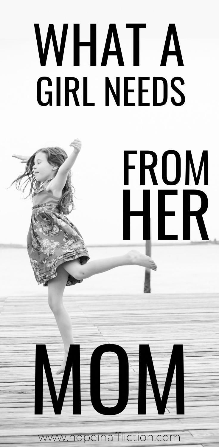 Moms! Your daughters need you! Find out 8 things your daughter needs, that will help strengthen your relationship! #parenting #parentingadvice #raisingdaughters #girls #tips #momlife #hopeinaffliction #Primerofamilia