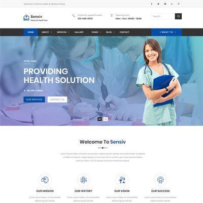 Plantilla Web para Sitio de Psicólogos xx Pinterest Medical - health history template