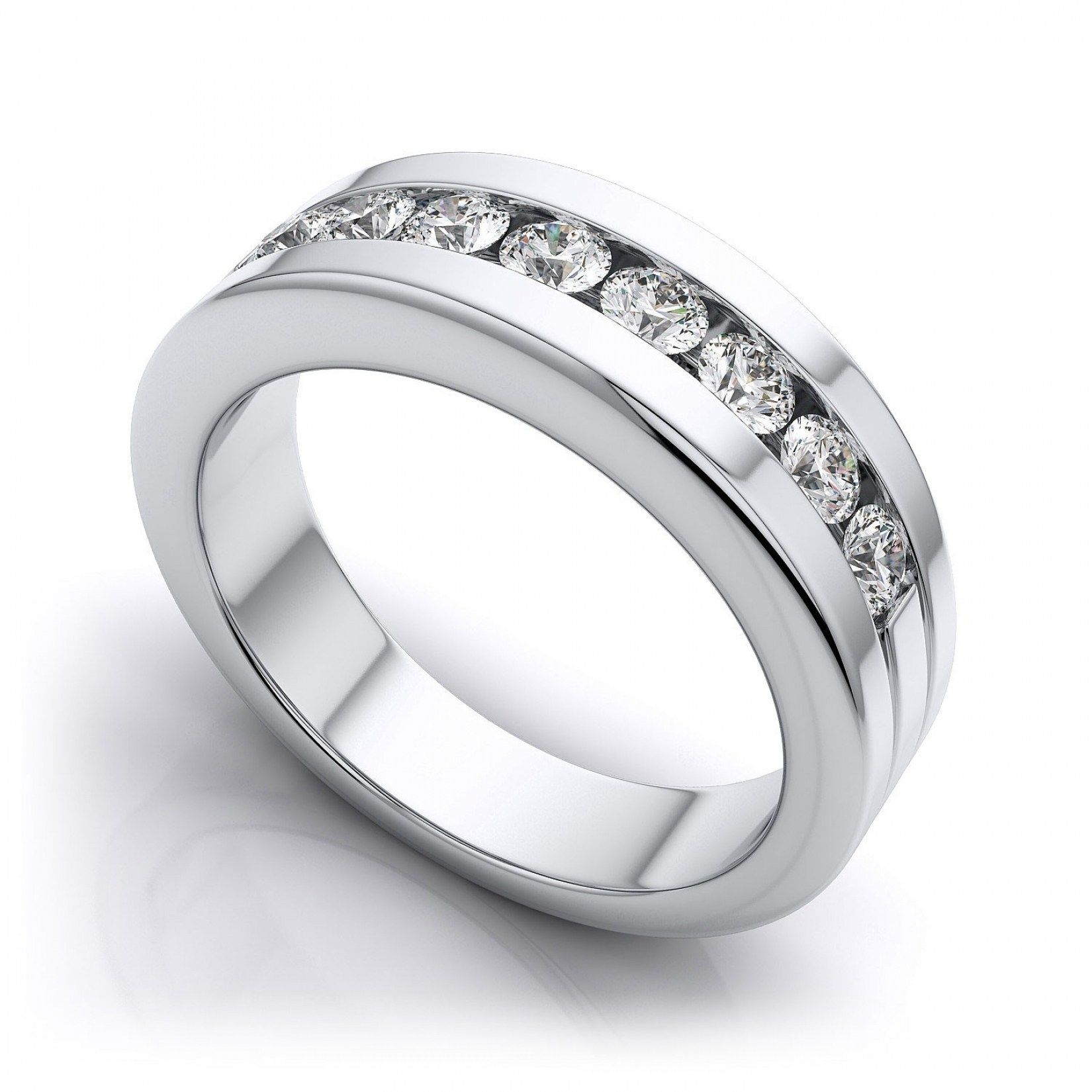 30 best platinum wedding rings for couples - Platinum Wedding Rings For Her