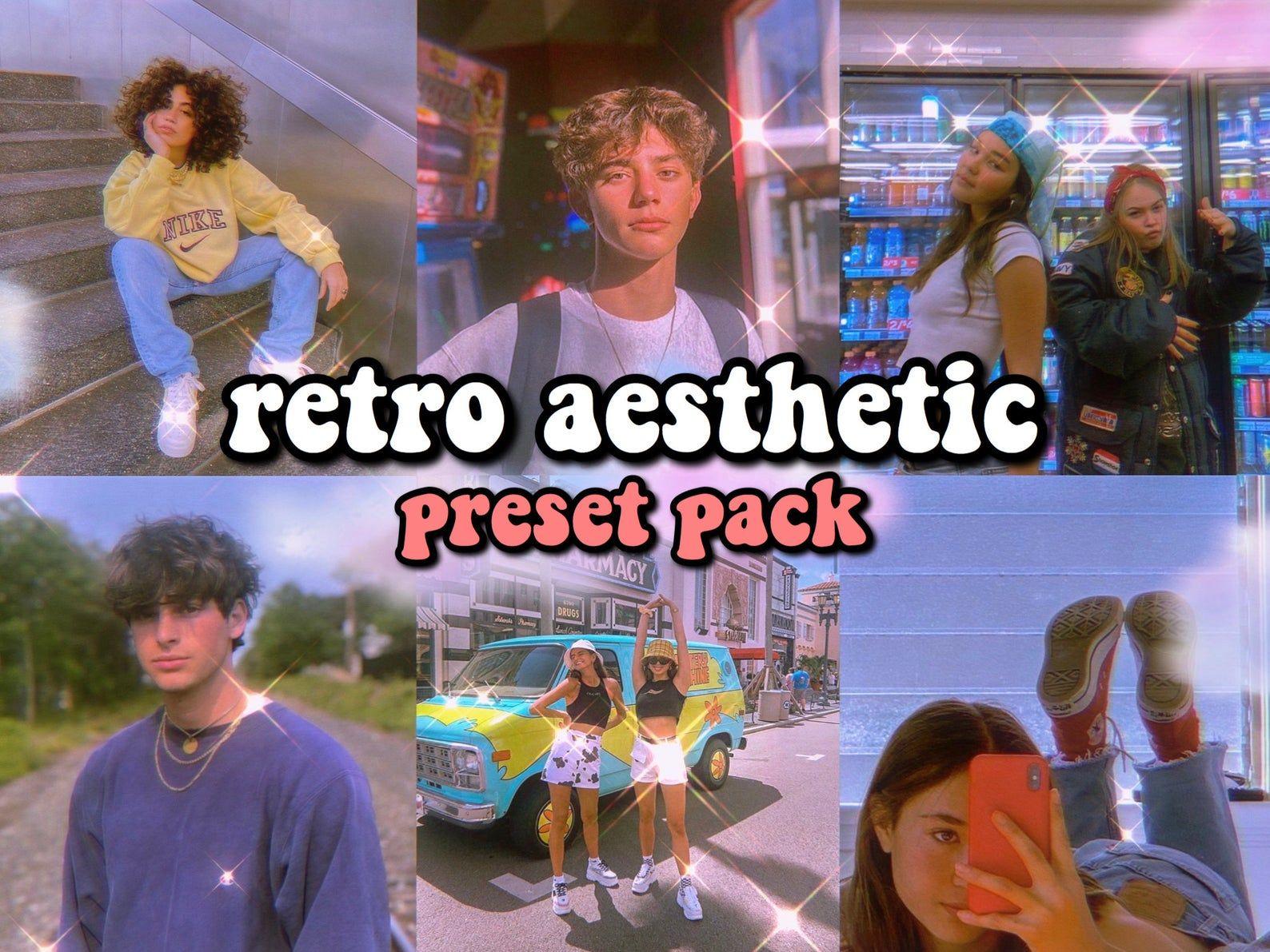 6 Retro Aesthetic Lightroom Mobile Presets 3 Retro Vsco Etsy In 2020 Vsco Presets Photo Editing Vsco Retro Aesthetic