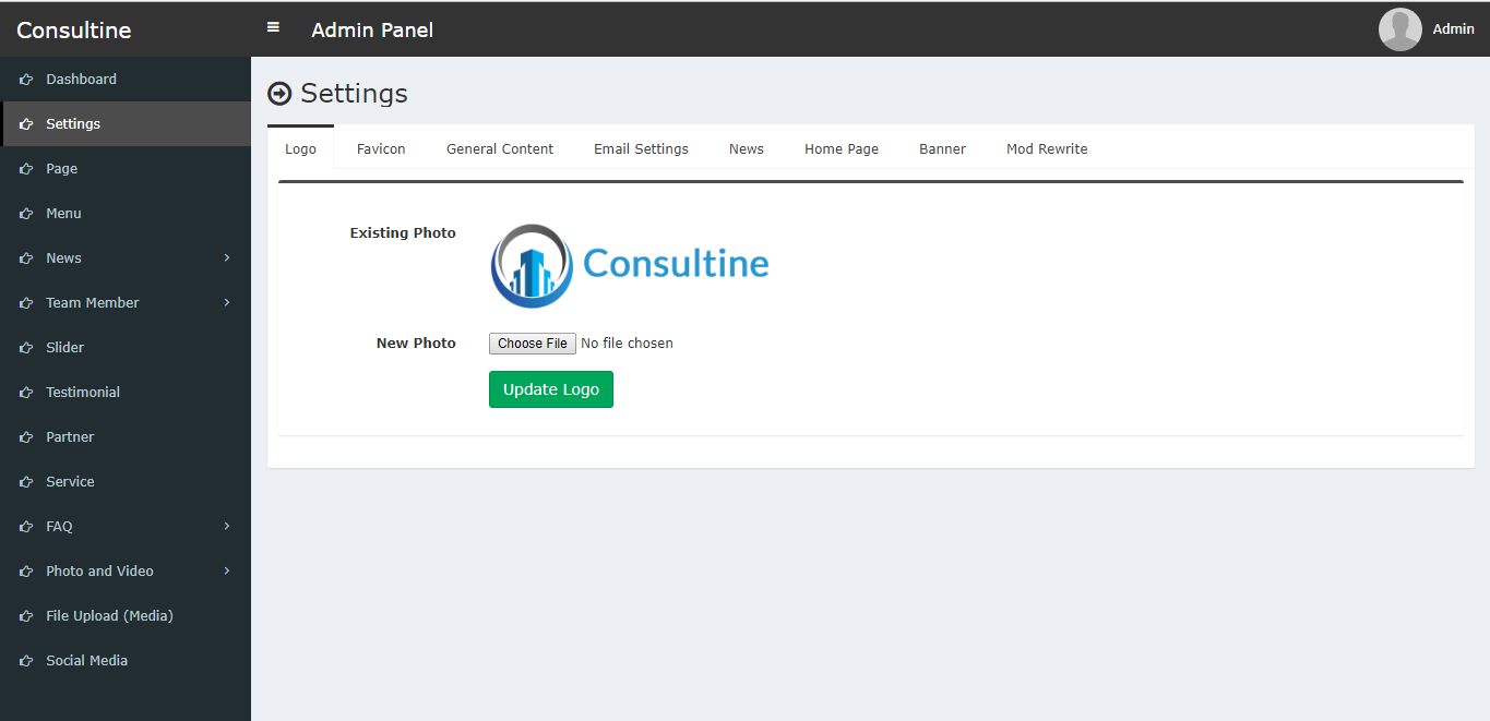 Consultine Consulting Business And Finance Website Cms