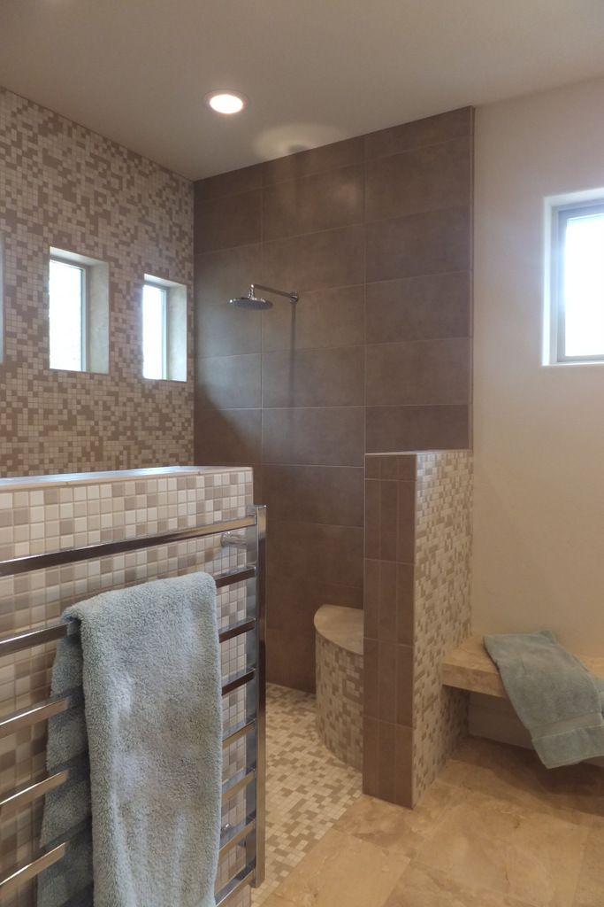 Locker Room Style Shower Designed By Board By Board Prescott AZ - Bathroom remodel prescott az