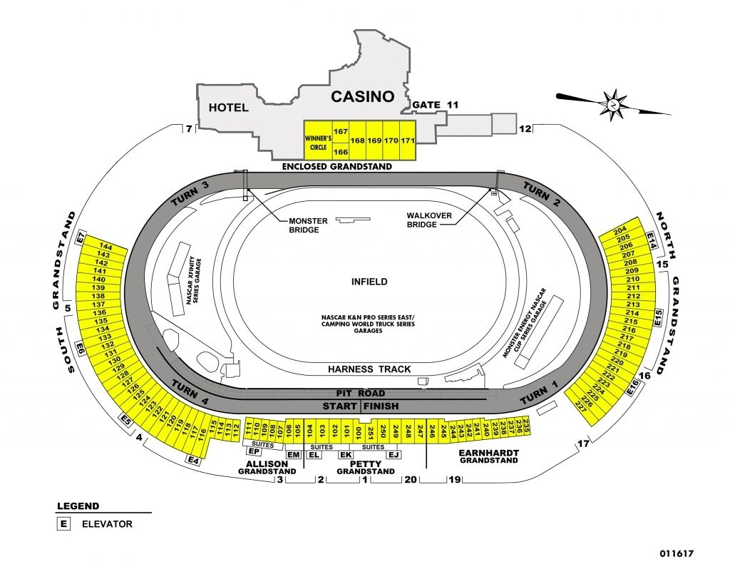 The Stylish Dover Speedway Seating Chart