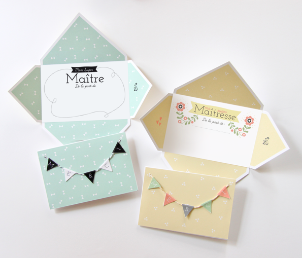 foto de DIY ZU MERCI MAITRESSE1 Cadeau de fin d'année pour maîtresse Pinterest Happy mail Card