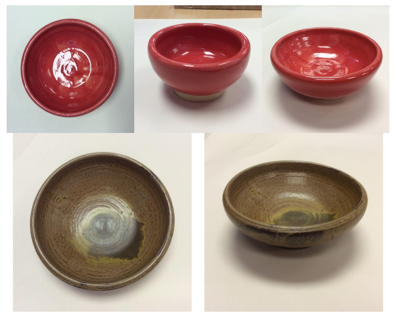 Wheel thrown bowls (Jasmin) #cobbartrocks #YouthArtMonth