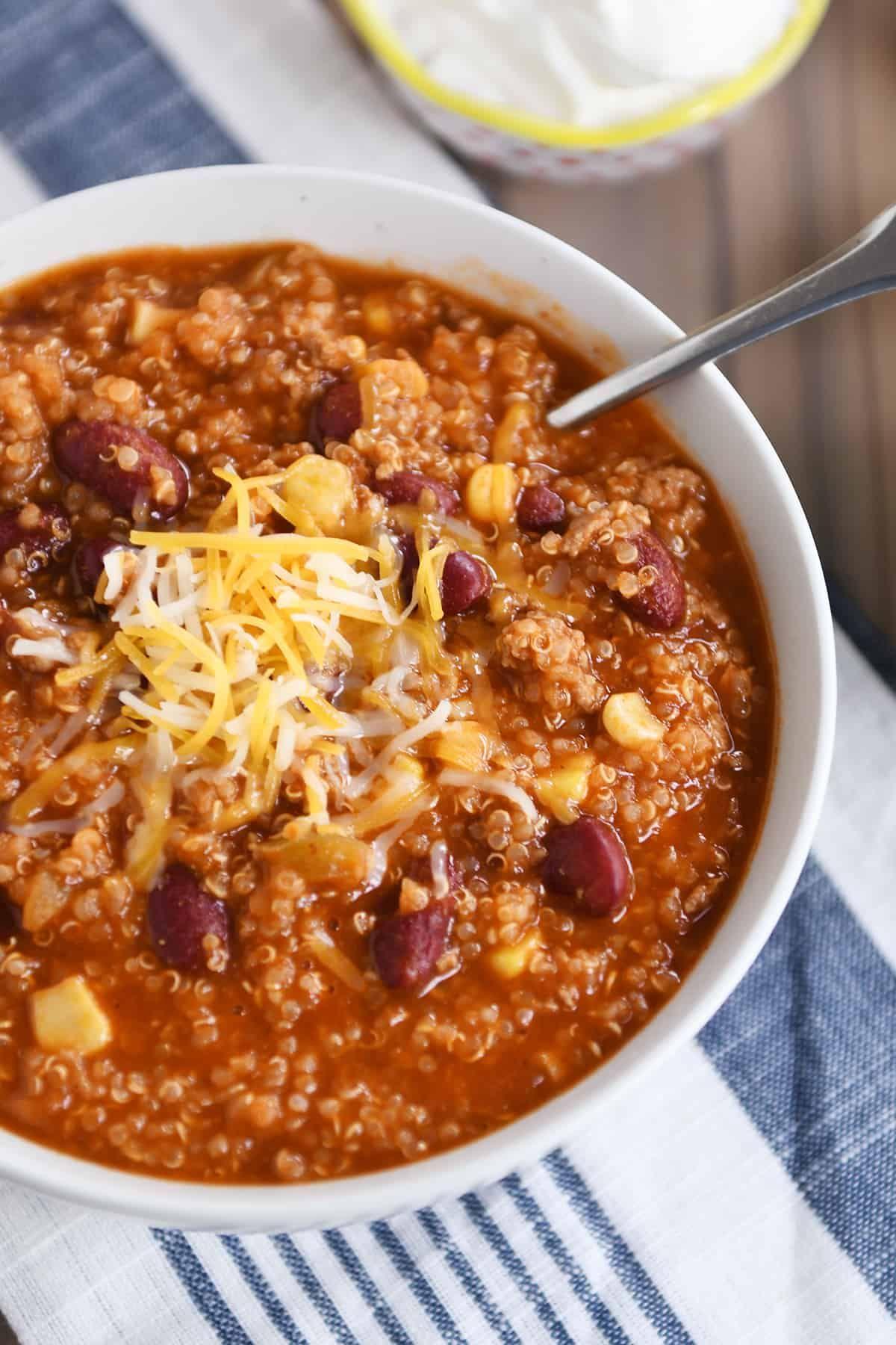 Photo of Quinoa Red Bean Chili